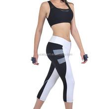 Hot 73% polyester 27% Spandex Sexy Wholesale Gym Wear yoga pants women sports bra