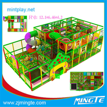 Kindergarten Used Low Price Indoor Kids Play Area Toys of Plastic Play House, Ball Pool, Swing Slide