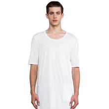 Thin blank elongated t shirt