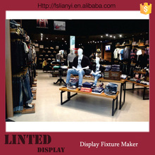 Customized made clothing shop furniture/ store fixture/clothes store furniture
