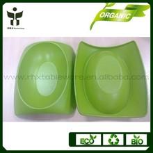 Sustainable development pet bowl bamboo fiber pet bowl