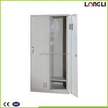 2 doors wardrobe steel locker