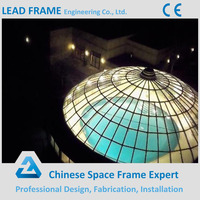 Modern Glass Roof Dome for Steel Building
