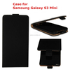 TPU Cover Ultra Slim Leather Flip Case for Samsung Galaxy S3 Mini i8190