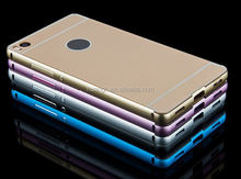 New products on china market Aluminum Metal Bumper+PC Hard Case case for huawei ascend p8 lite made in china