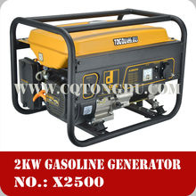 Hot selling 2kw mini gasoline inverter generator,manual easily to move for home use gasoline generator