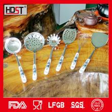 Ceramic shivering handle korean type stainless kitchen utensil