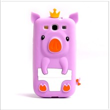 Samsung Galaxy S3 Pig Animal Silicone Case