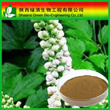 100% Good Quality Black Cohosh Extract 2.5% Triterpenoid Saponis/High Quality Gotu Kola Extract