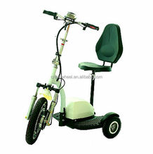 Best Quality 500W Brushless Motor China Three Wheel Electrical Scooter