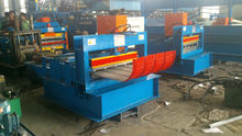 Arched colored steel plate stamping plant