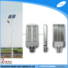 good quality dimming solar led lights for driveway with double light arms