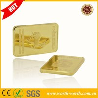 New Products for Krugerrand Lion 999 Gold Bar, pure gold bar for business gift