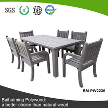 Eco-friendly and Hot Sale WPC Garden Furniture