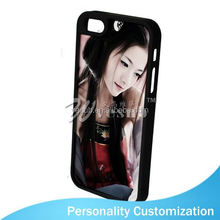 For Iphone 5 Sublimation Blank Phone Case 2D fashion plain mobile phone cases