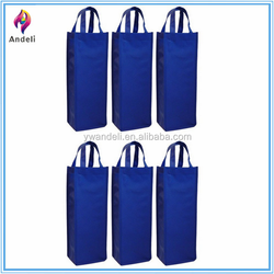 Reusable Gift Wine Tote, Durable Single Bottle Wine Tote, 6 Pack Set