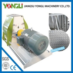CE approved wood harmmer mill crusher price Yongli patented product