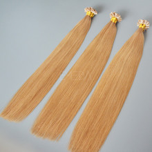 6A Grade Remy Italian Keratin Double Drawn U Tip Hair Extension