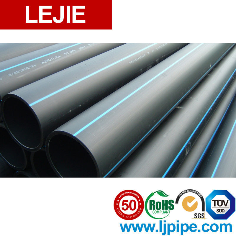 Hdpe plastic flexible drinking water supply pipe for sale