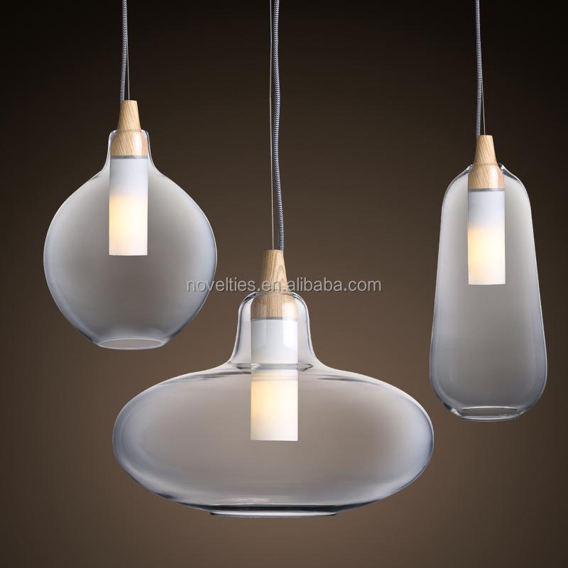 modern glass pendant restaurant lighting zhongshan lights