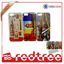 Colorful fashion oil printed cellphone cover for iphone 4s 5s 6 plus