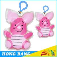 animal shape plastic hook portable PVC hand warmer