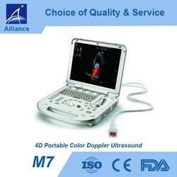 M7 4D Portable Color Doppler Ultrasound