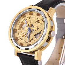 Custom Skeleton Automatic Mechanical Watch Japan Miyota Movt 8N24