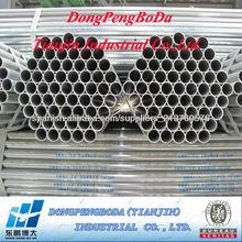Tubo galvanizado de fabricante profesional de la producción de tubos de acero