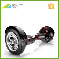 10 inch wheel smart electric self balancing scooter, two wheels self balancing electric scooter