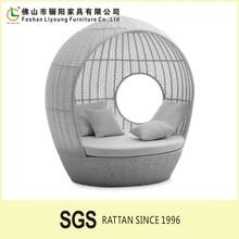 Garden Treasures Outdoor Rattan Furniture Poland/ Easy Clean Metal Sofa Bunk Bed LG41-6631