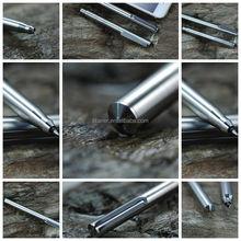 Affordable Price Quick Cycle Time Female Self Defense Engraved Writing Pens Kickstarter Titanium Pen