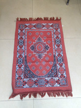 beautiful design of muslim prayer mat rubber mat