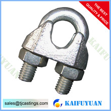 Gal. Malleable Wire Rope Clip