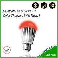 New Edition Environmental Bluetooth Led Bulb 7W