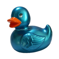 soft PVC rubber duck water floating toy duck children play bathtub toy