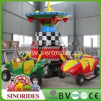 Kiddy ride machine bounce car rides children games machine carnival rides for sale