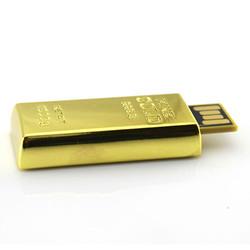 Hot selling chian product usb stick 2tb usb flash drive of golden metal usb disk