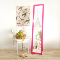 Ten colors available sheet glass prices wooden mirror modern furniture designer