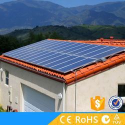 Solar panel with inverter for solar energy system 5kw off grid