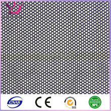 Knitted Diamond Mesh Fabric for clothing