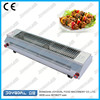 2015 hot sell stainless steel 304 electric bbq grill spit with lid