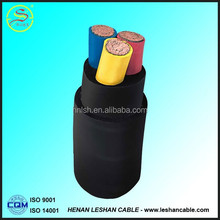 2015 hot selling H07RN-F Rubber cable rubber insulated flexible cable for fixed laying out cables