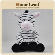 funny zebra stuffed plush animal
