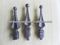 wrought iron gate /metal fence part/spearhead/ good quality spearhead