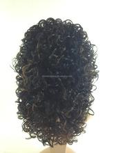 100% Kanekalon Synthetic Hair Wig Half Wigs Hot Selling