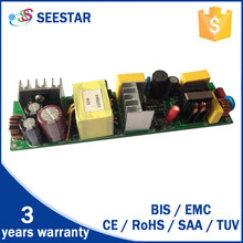 85-265v input voltage and single output type open frame constant current 50w 1500ma led driver power