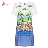 2014 summer sunshine bench girl dress net short sleeves GMY05041