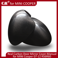 For Bmw accessories real Carbon Mini Cooper R56 R60 Carbon Door Mirror Cover