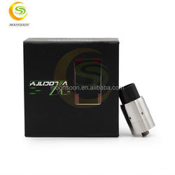 New products 2015 best selling Velocity RDA e cig mosler black Velocity RDA atomizer new version in stock battery 3.6 volt